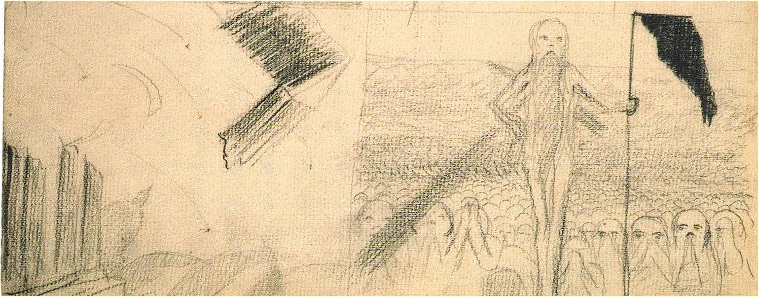 12. M. K. Čiurlionio kompozicijų eskizai (1904)