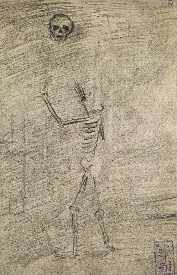 6. M. K. Čiurlionio kompozicijos eskizas (1904/05)