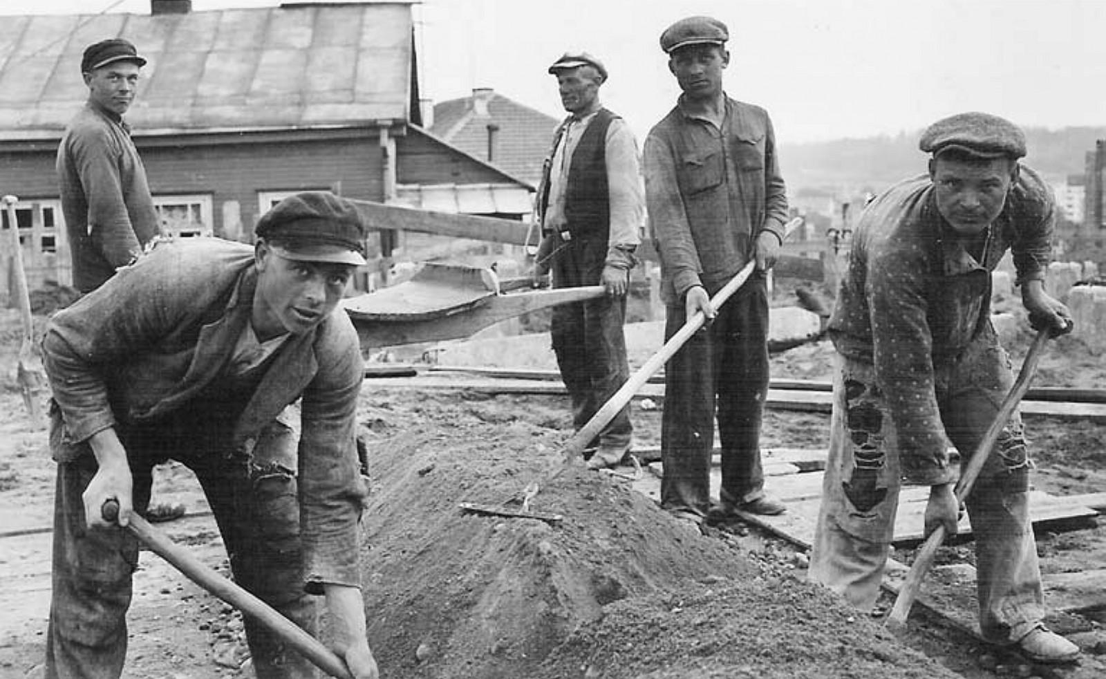 3 il. Taip pradėta bažnyčios statyba, 1934, Kauno Kristaus Prisikėlimo bažnyčios ir parapijos archyvas