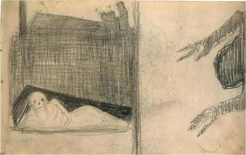 4. M. K. Čiurlionio kompozicijos eskizai (1904/05)