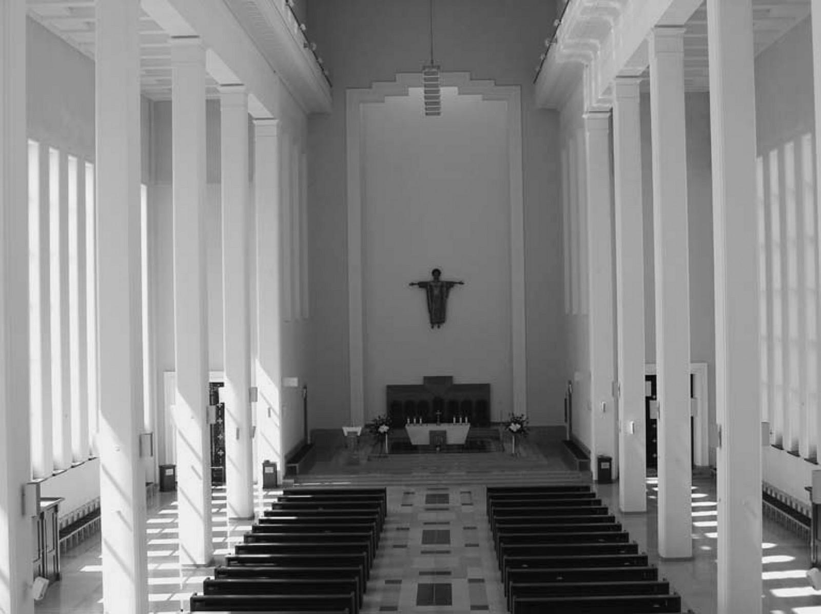 16 il. Didžiosios Kristaus Prisikėlimo bažnyčios vidus: interjero įrenginių išsidėstymas erdvėje, 2011, Aido Vasiliausko nuotrauka