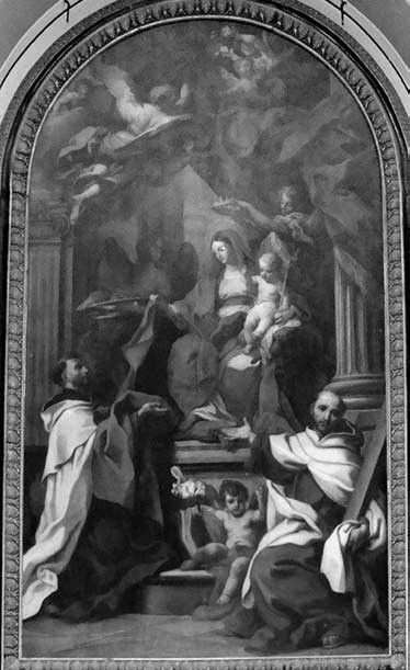 8 il. Šv. Simono Stoko vizija. Foto: Iconographia Carmelitana 1, CD. Olomc BW014