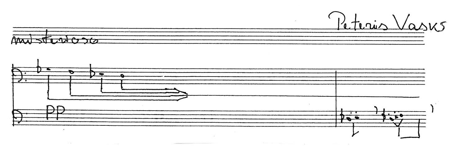 "P. Vaskas ""Musica serva"""