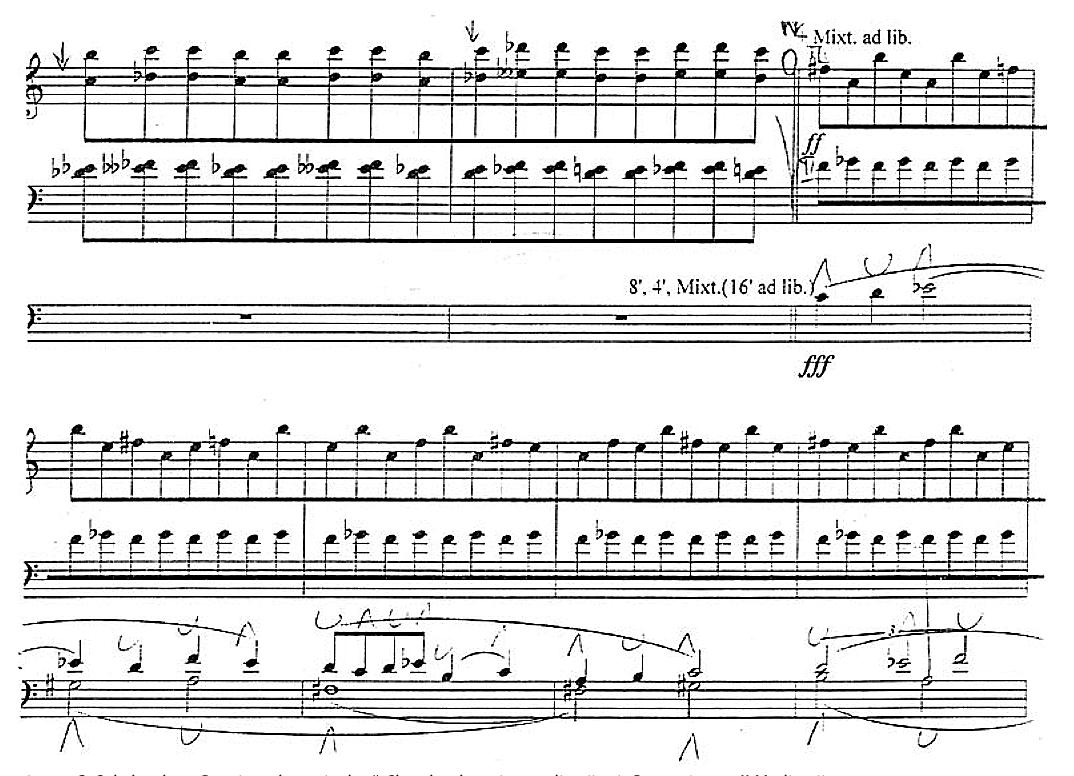 "1 pvz. G. Sakalauskas. ""Domine, clamavi ad te"". Choralas, keturios meditacijos ir ""Post scriptum"". II Meditacija"