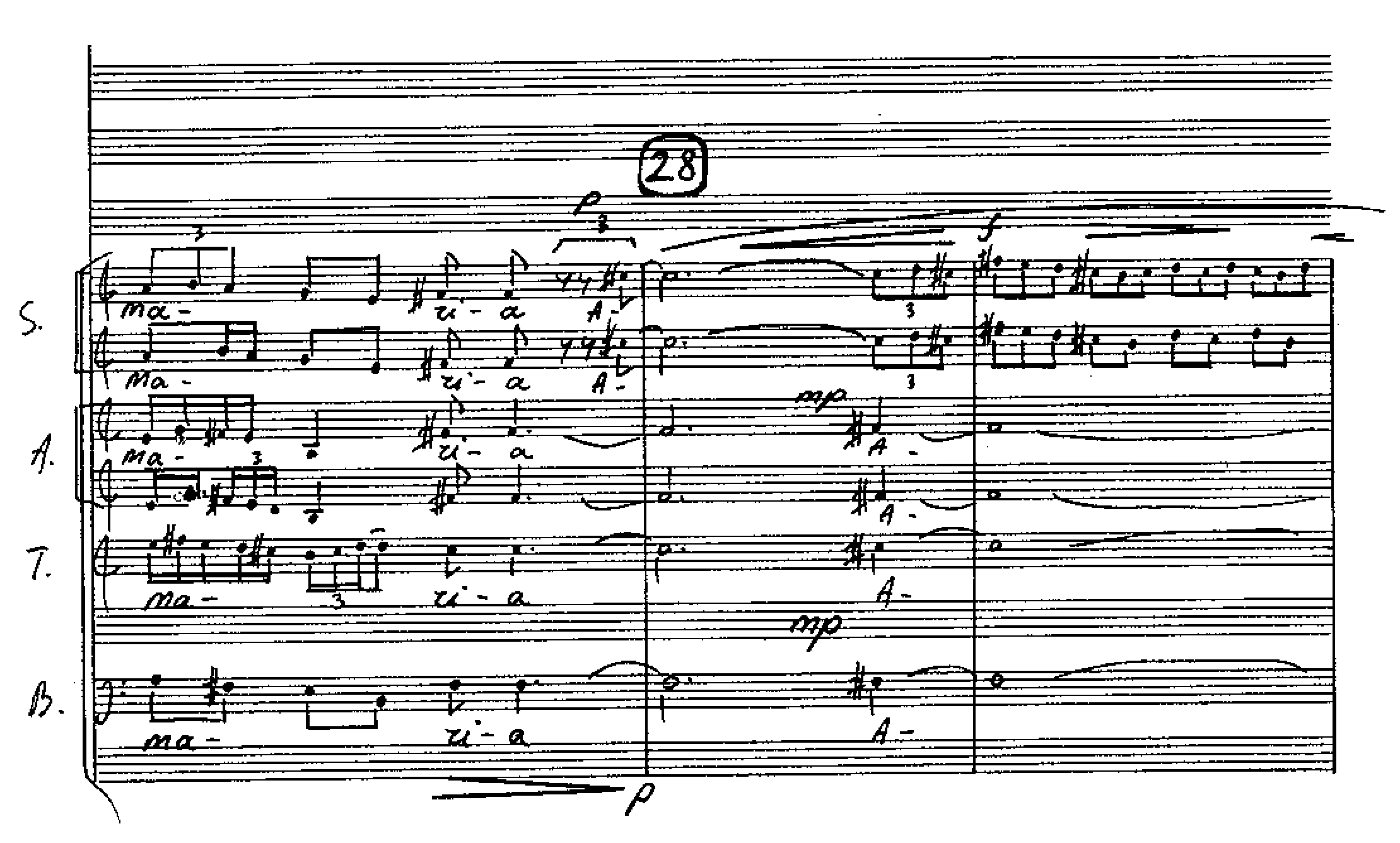 "2 pvz. ""Angelus Domini (symphonia prima)"""