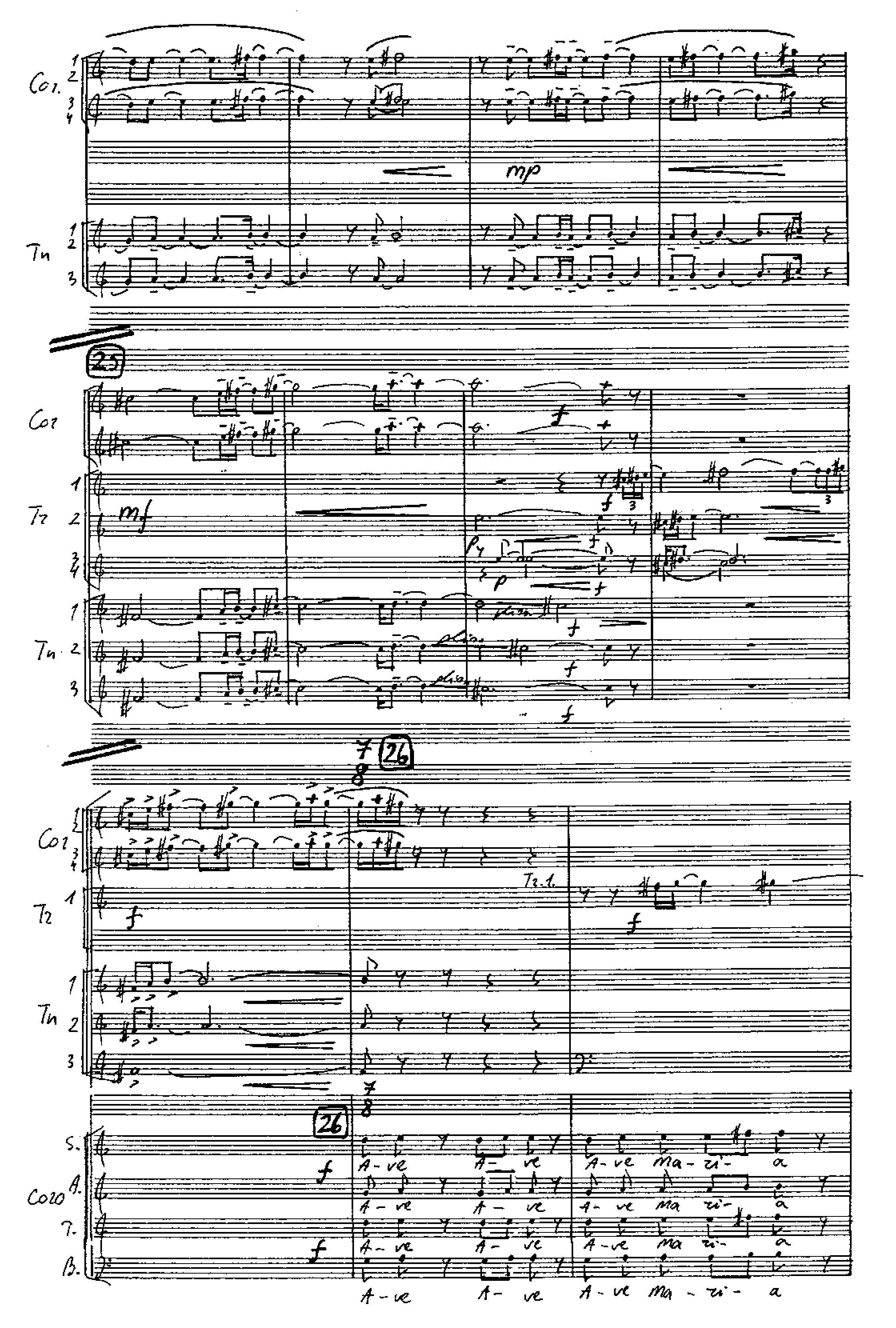 "1 pvz. ""Angelus Domini (symphonia prima)"""