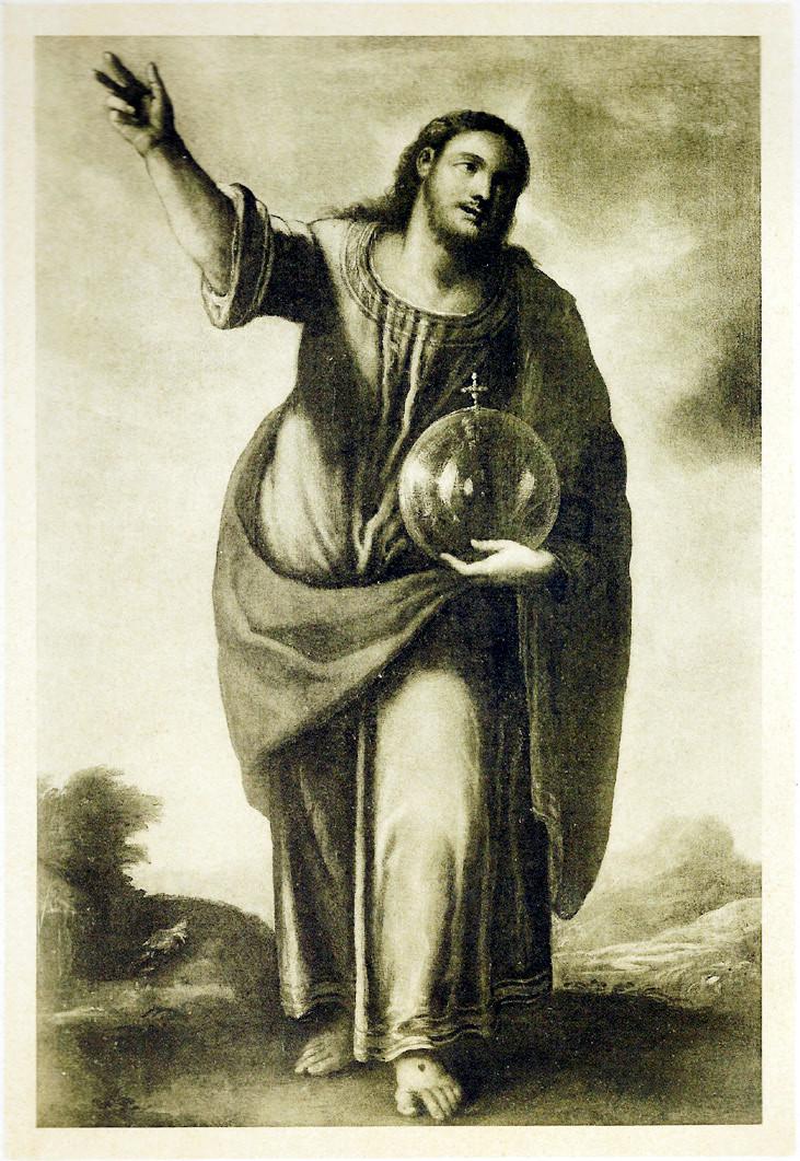 """6 pav. Tiziano """"Jėzus"""". XVI a."""