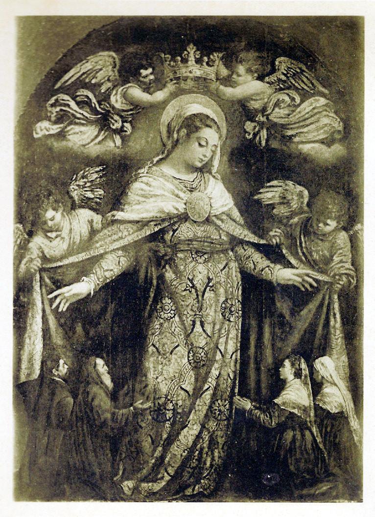 """5 pav. El Greco """"Švč. Mergelės karūnavimas"""". XVI a. pab."""