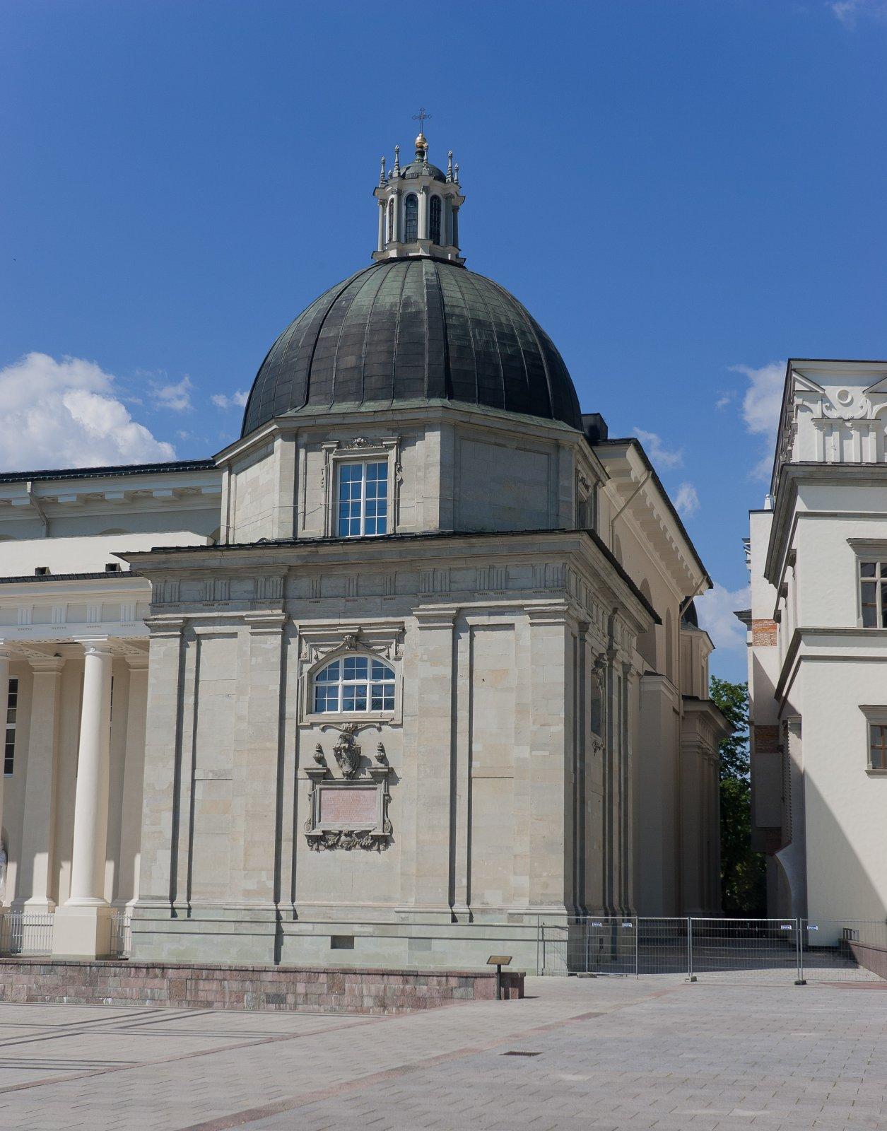 2 pav. Šv. Kazimiero koplyčia Vilniaus katedroje. Fot. M. Ambrazas, Communicare©