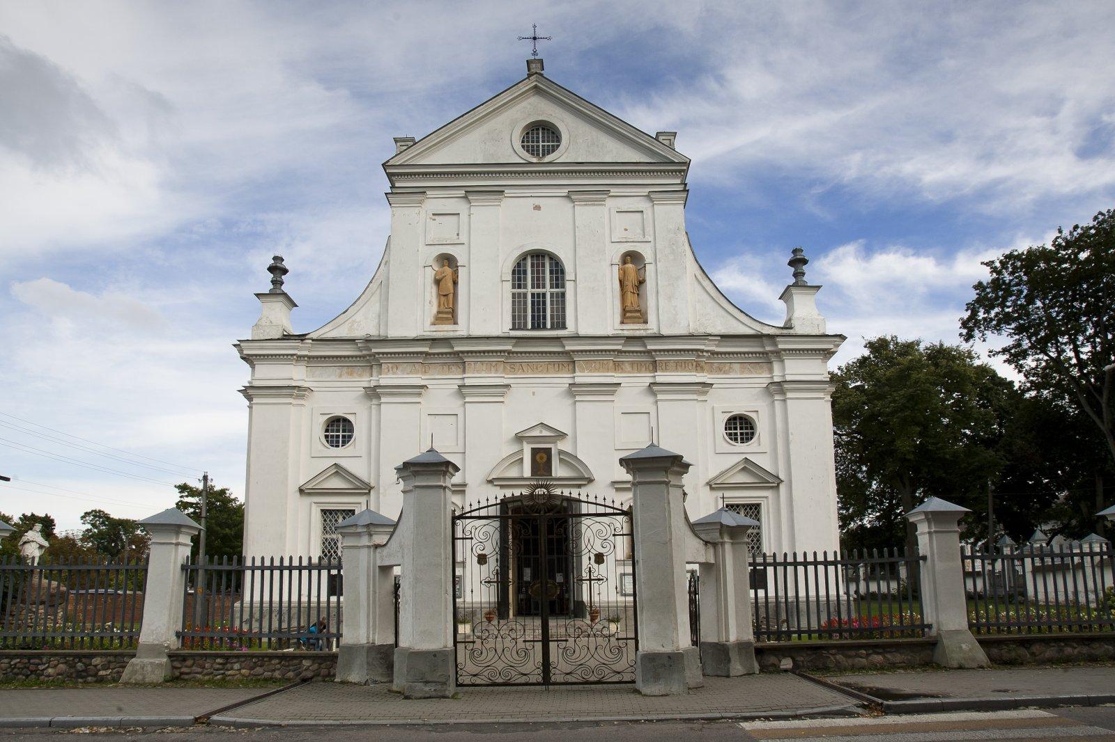 1 pav. Nesvyžiaus Dievo Kūno bažnyčia. Fot. M. Ambrazas, Communicare©
