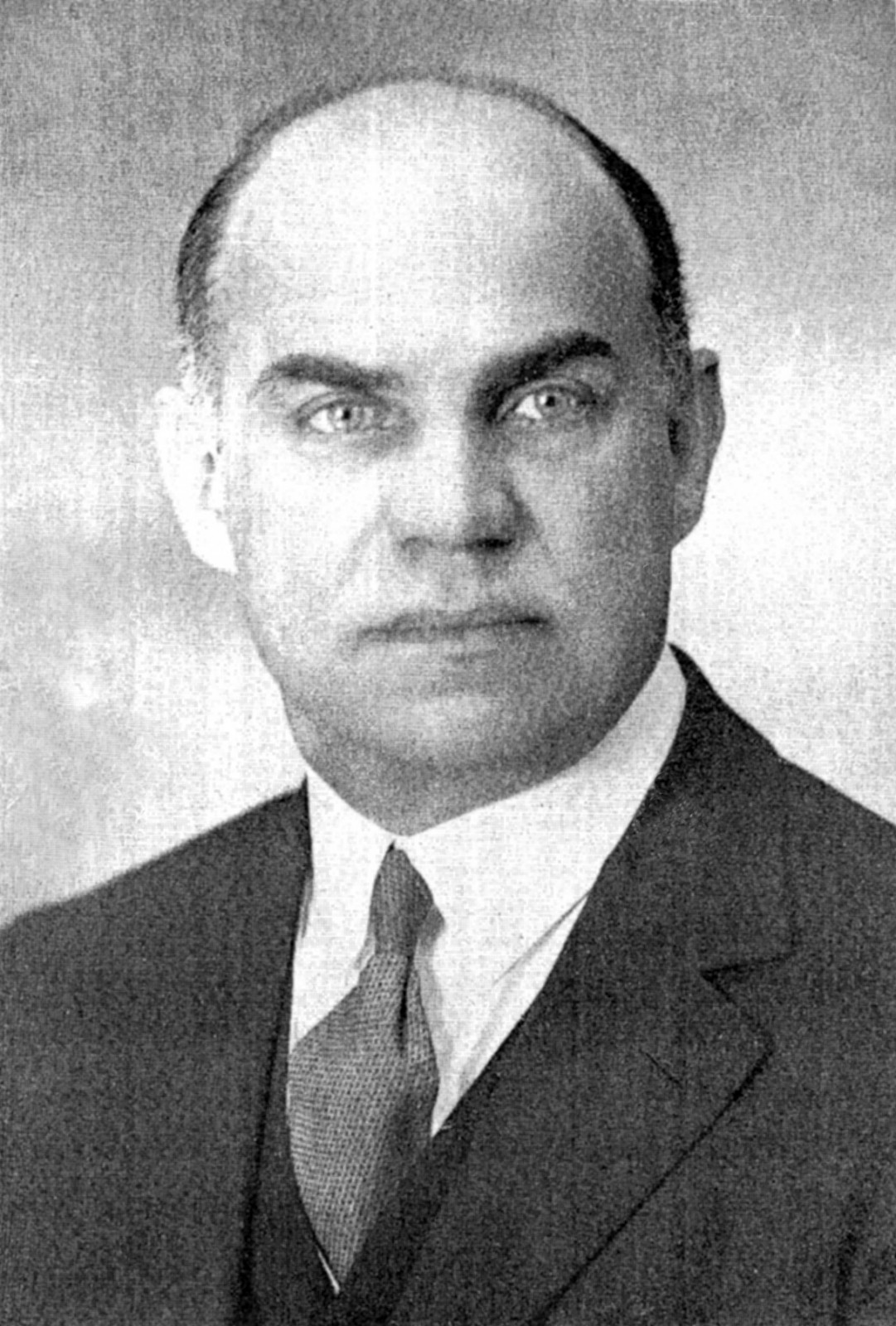1 il. E. Galvanauskas – Prekybos instituto rektorius (Prekybos institutas Klaipėdoje. Klaipėda, 1937)