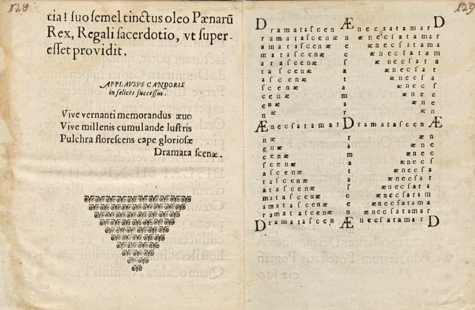 """Pav. """"Candor religiosae submissionis""""…Vilnae, typ. Franciscanis, 1683, p. 128–129"""