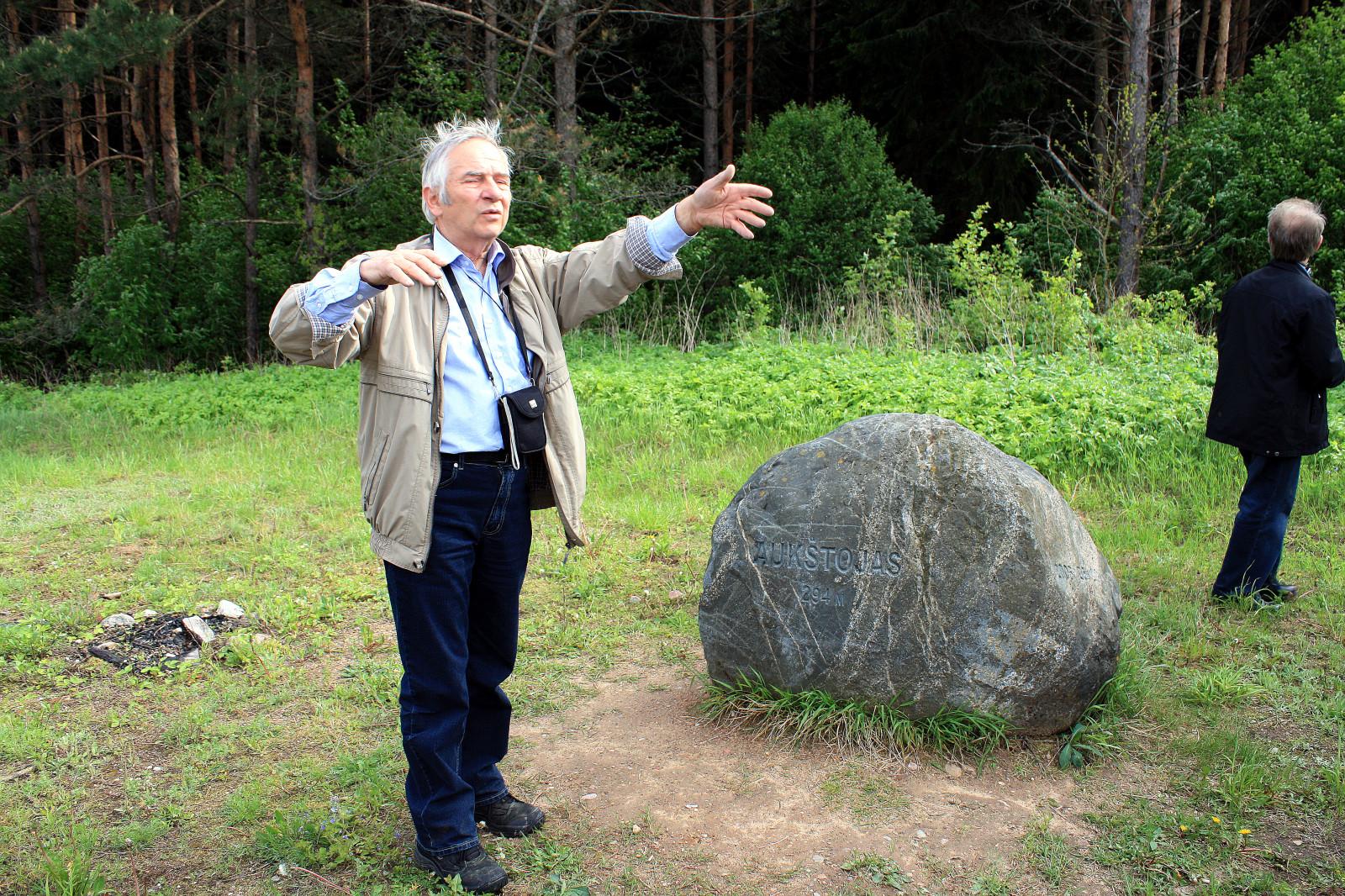 1 pav. Geografas dr. Rimantas Krupickas / Fig. 1. Geographer dr. Rimantas Krupickas