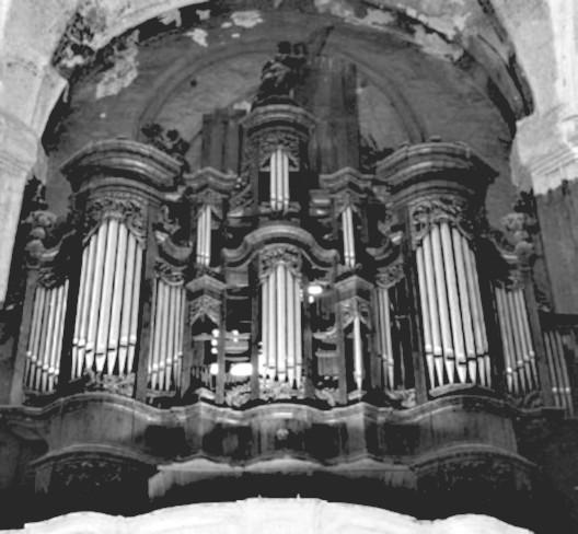2 pav. Vilniaus Bernardinų bažnyčios vargonai. G. Povilionio nuotr.