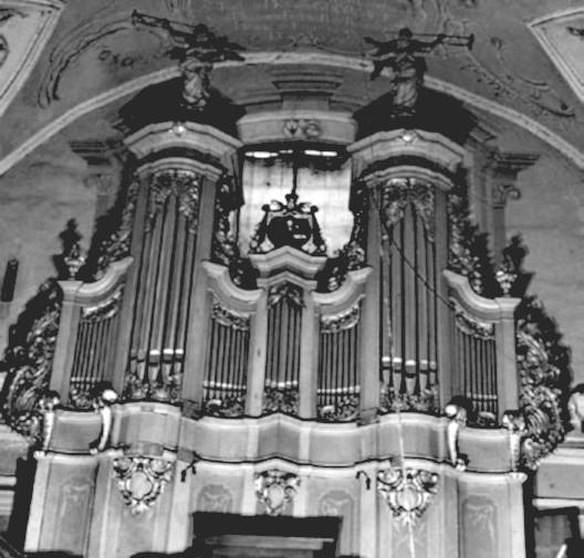 5 pav. Vilniaus Šv. Jurgio bažnyčios vargonai. G. Povilionio nuotr.