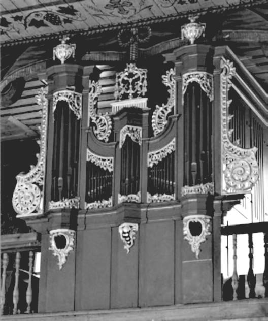 6 pav. Kėdainių Šv. Jurgio bažnyčios vargonai. G. Povilionio nuotr.