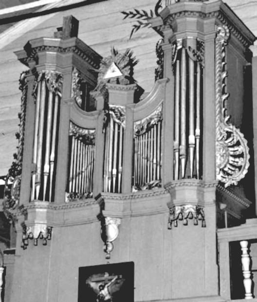 8 pav. Kantaučių bažnyčios vargonai. G. Povilionio nuotr.