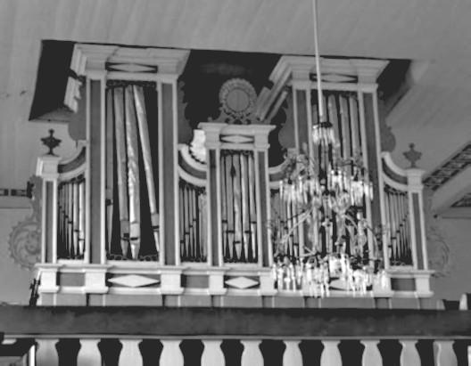10 pav. Žemalės bažnyčios vargonai. G. Povilionio nuotr.