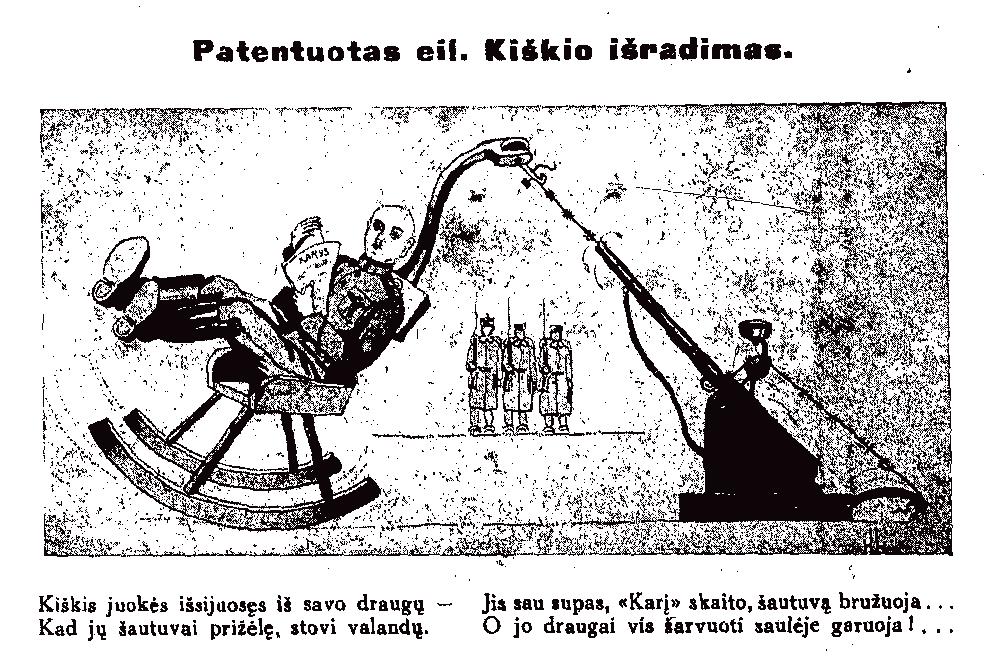 """""""Patentuotas eil. Kiškio išradimas"""""""