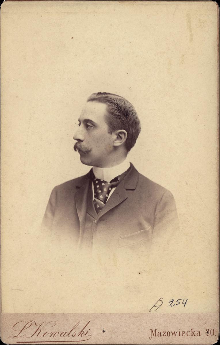 1 pav. Vladislovas Tiškevičius (1865–1936). L. Kowalskio nuotr. XIX a. pab. KMIF 6891