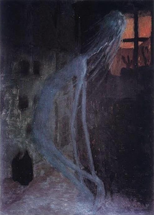 """3. Jaroslavo Panuškos """"Mirusios motinos dvasia"""" (1900)"""